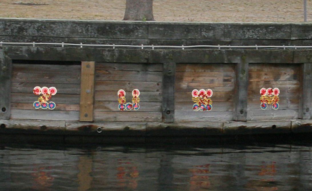 Zusa (ZusaStreet) Street Art - Christianshavn - Copenhagen - Denmark