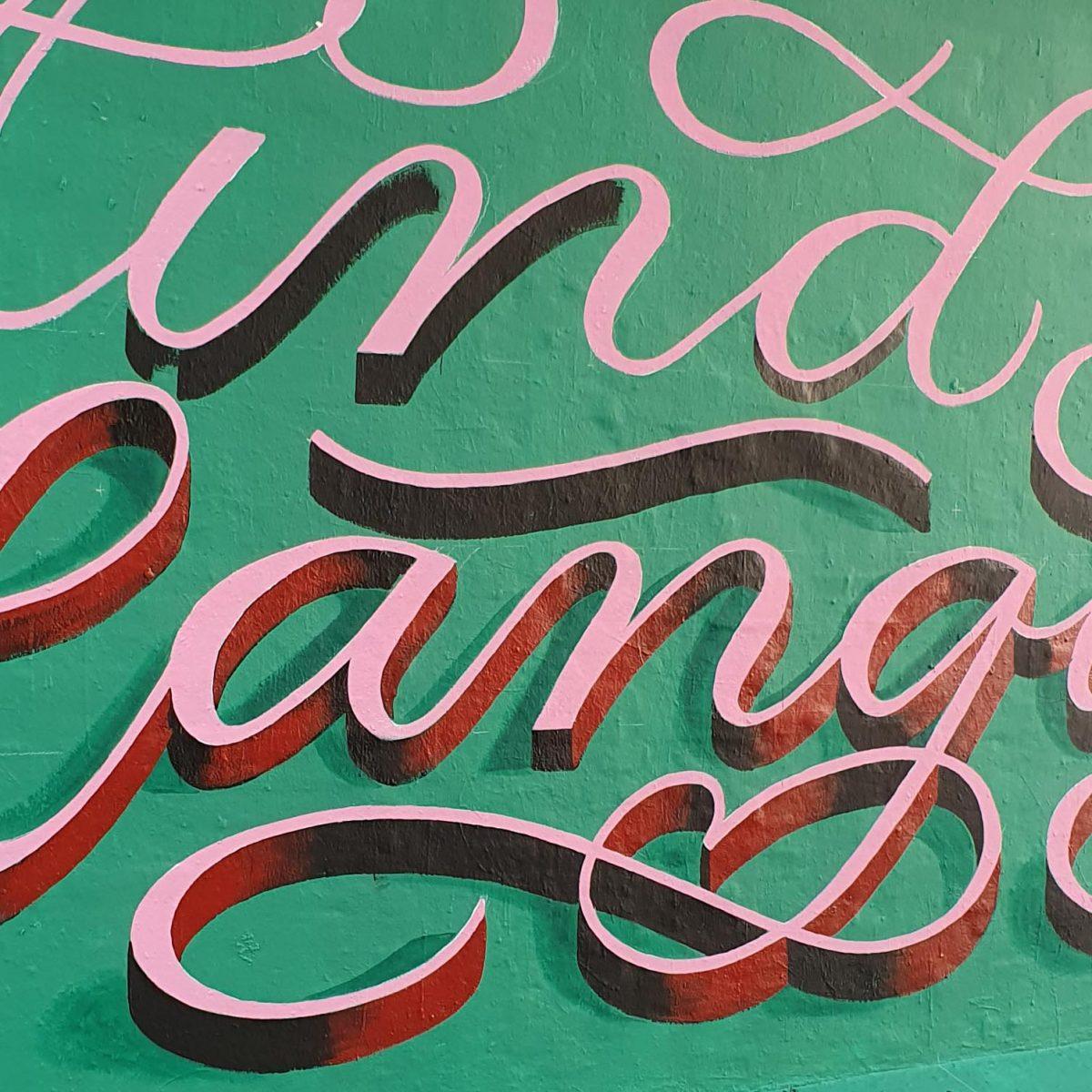adam lenzinger mural in Weestend