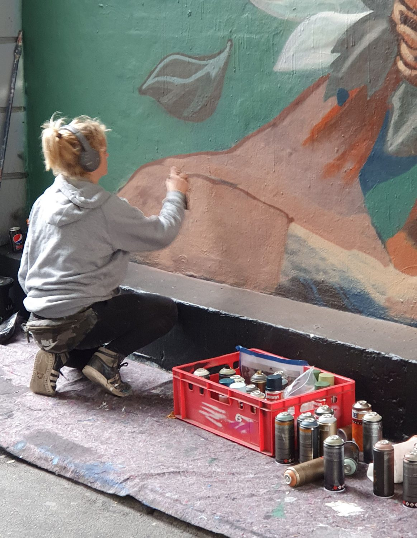 Stine Hvid - Street Art i Westend