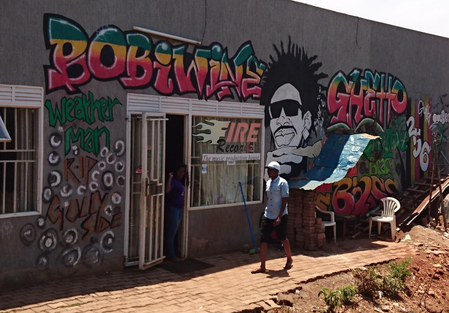 Bobi Wine - Ghetto fire recordz